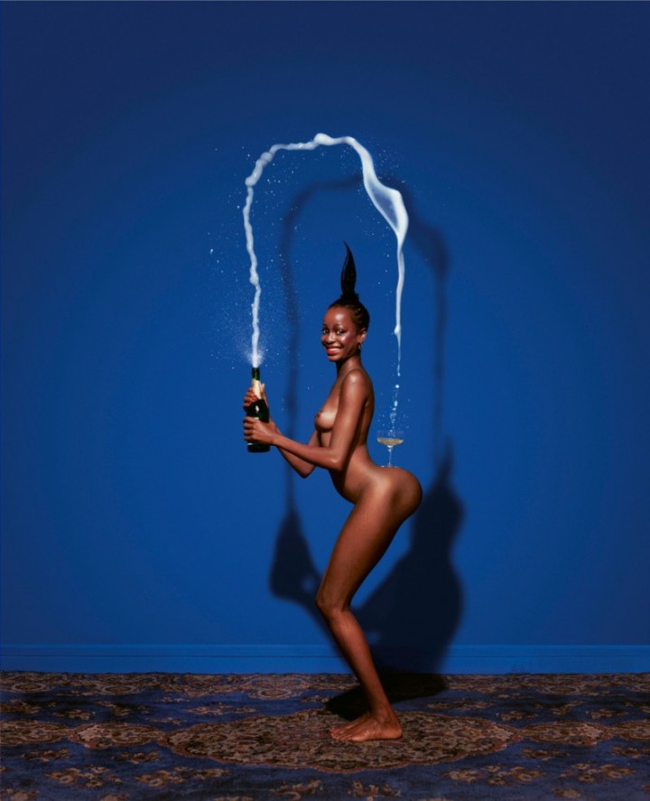 """Image originally published in Jean-Paul Goude """"Jungle Fever"""" (1983)"""